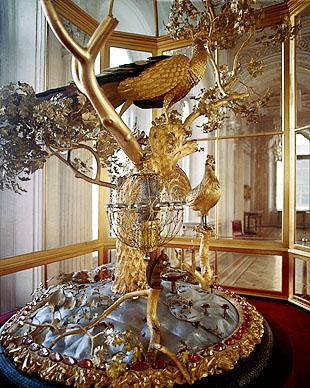 J(ZI)-3425;0; The Peacock Clock.